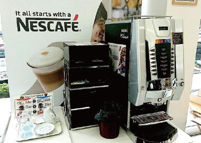 カフェの用意しております。
